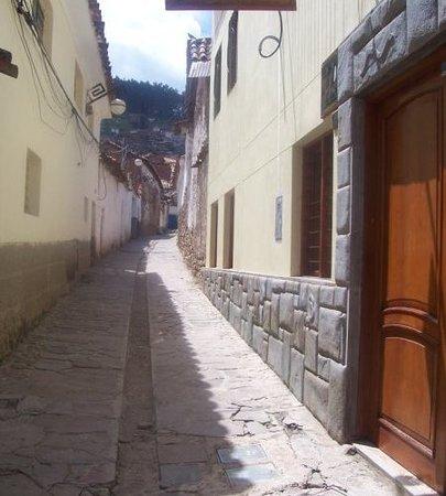 Casa de Mama Cusco Recoleta : calle muy tranquila