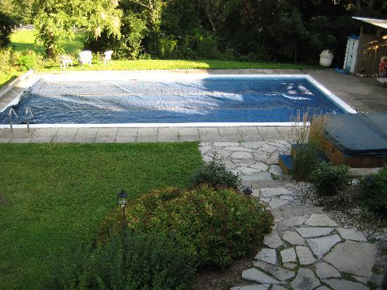 River Ridge Bed and Breakfast: Our pool, big enough for you and friends!