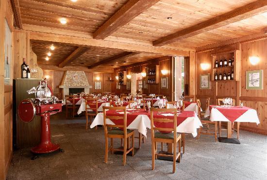 Hotel Walser-Bosco Gurin, Ristorante