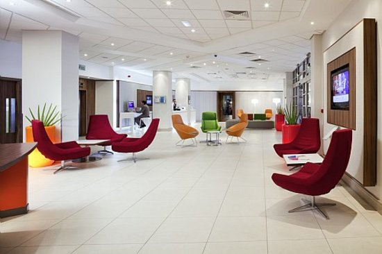 Novotel Southampton: Lounge and Public area