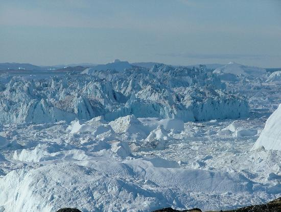 Ilulissat, Greenland: icebergs