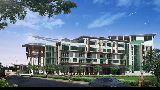Prajaktra Design Hotel: Side Ext'Tive