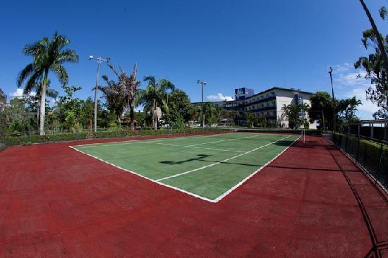 Porto Sol Beach: Quadras de Tenis