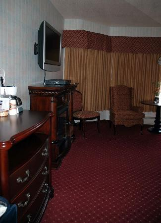 Hotel Seward: Another view of our lovely room