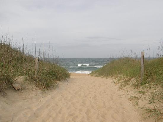 Nags Head, Karolina Północna: View from beach access