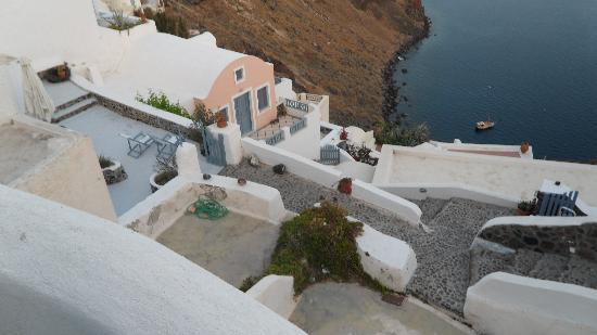 Lava Oia's: View from our balcony