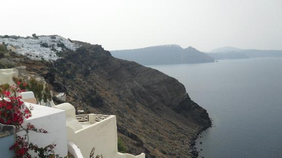 Lava Oia's: View from our balcony!