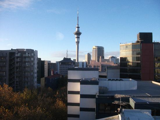 City Lodge: this was the view from the window of my bedroom.