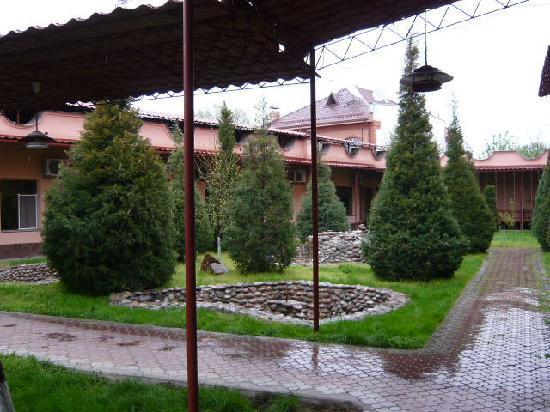Rovshan-Tashkent Hotel : ホテルの中庭