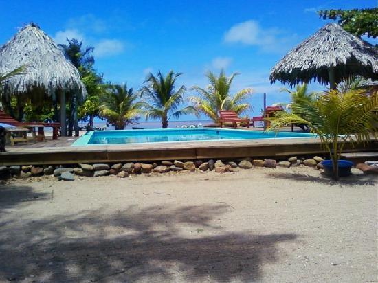 Lost Reef Resort and Hideaway : Pool...Hammocks...Relaxation...