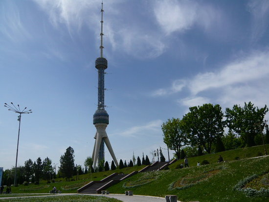 Wieża telewizyjna w Taszkencie