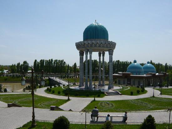 タシュケント, ウズベキスタン, テレビ塔の東にある公園