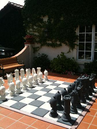 Thousand Oaks, Californië: Giant Chess Board