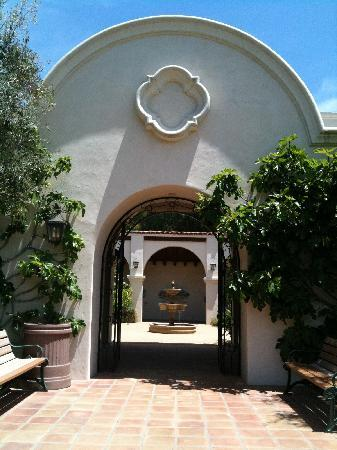 Mission Garden Portal Picture Of Thousand Oaks California
