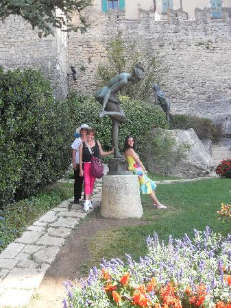City of San Marino, San Marino: jardín