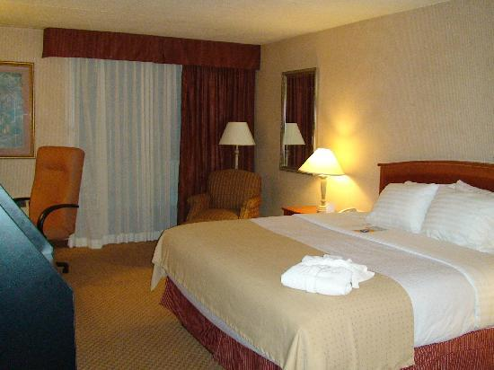 Holiday Inn Burlington Hotel & Conference Centre: King Executive Room