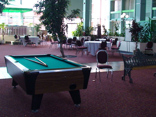 Holiday Inn Burlington Hotel & Conference Centre: pool table in the Holidome