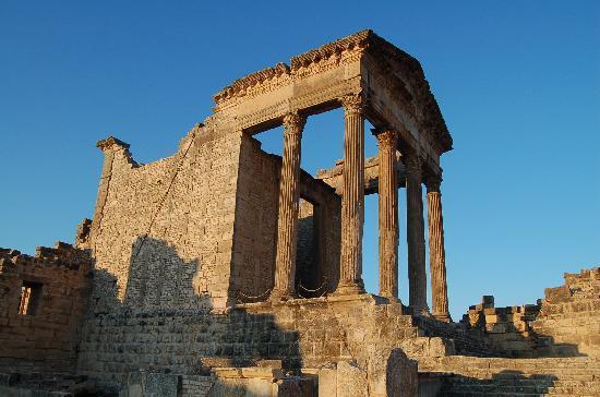 Beja Governorate, Tunisien: temple to jupiter