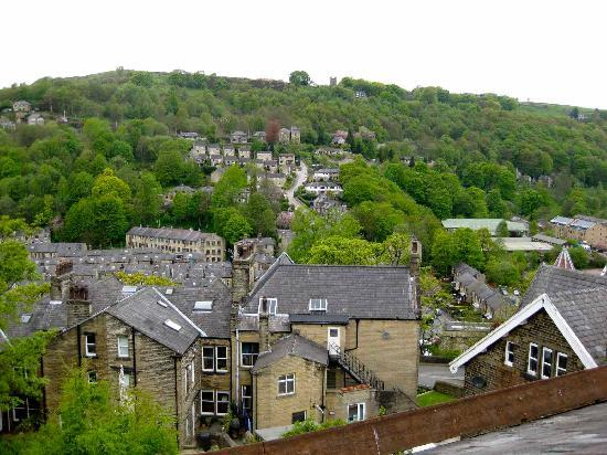 Thorncliffe B&B Hebden Bridge: the view from the window