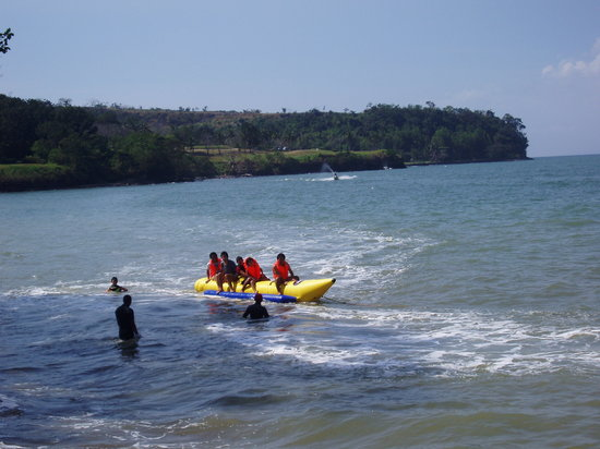 Cavite City, Filipinas: Banana boat ride