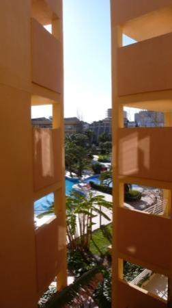Viva Palmanova & Spa: Blick in den Hotel Innenhof