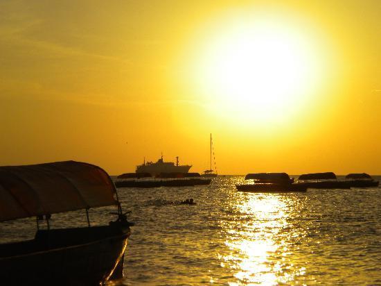 VOI Kiwengwa Resort: tramonto