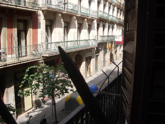 Downtown Hostel: View from the balcony
