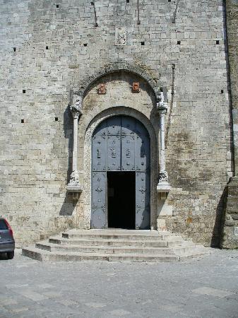 Potenza, อิตาลี: Cattedrale door