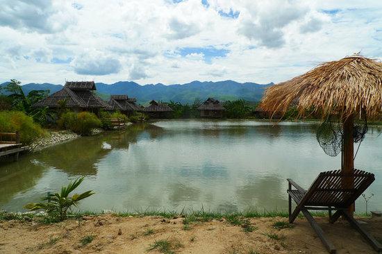 Bueng Pai Farm: Bueng Pai Farm garden