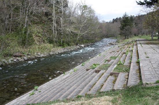 Sangaitaki Park : 綺麗な川もあります。