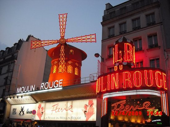París, Francia: Moulin Rouge, Paris
