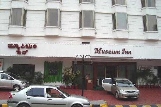 Museum Inn: Facade close up