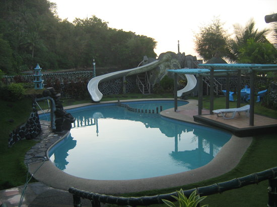 Calayucay, Philippinen: swimming pool in the morning