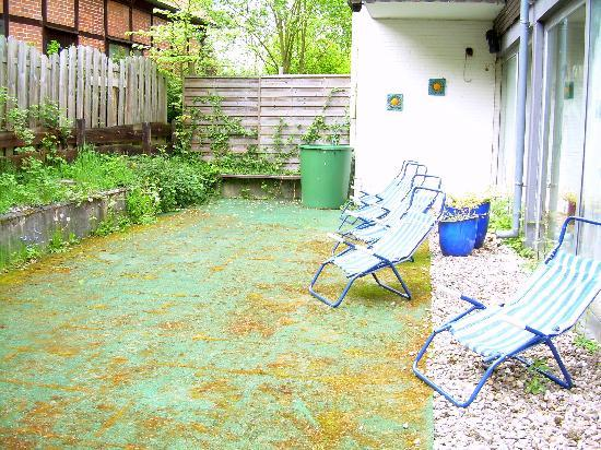 Bad Bevensen, Almanya: ungepflegter Rasen