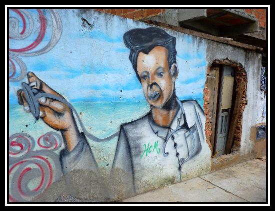 Pousada Casa Vila Bela: Quartier limitrophe