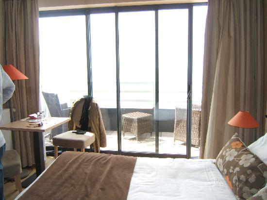 Hotel Atlantic : chambre vue sur mer
