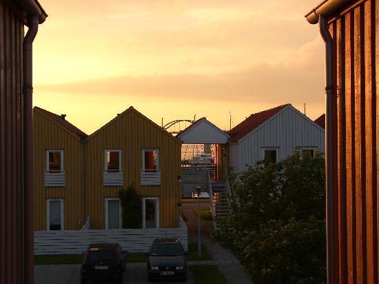 Langeland, Denmark: From steps outside apartment