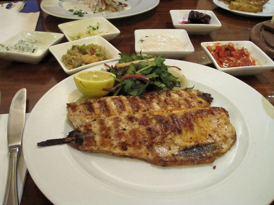 """Dolphin Yam : St. Peter""""s fish, grilled"""