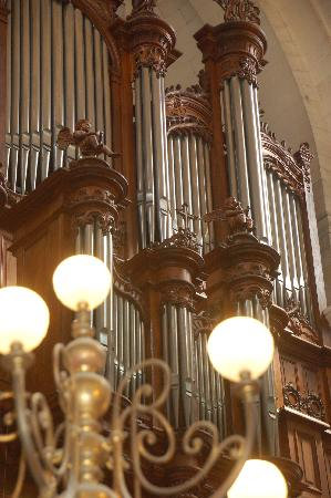 Cathedrale St-Louis (La): organo