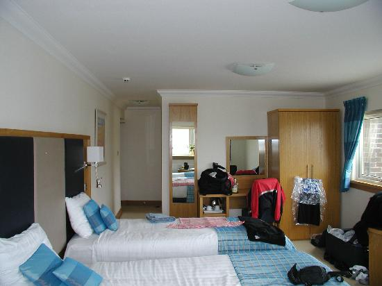 Girvan, UK: Large room