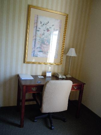 Hampton Inn Waynesboro / Stuarts Draft: ample desk area