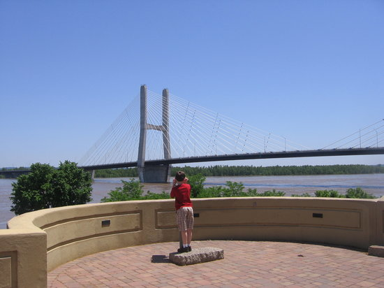 Cape Girardeau, MO: Nice bridge view.