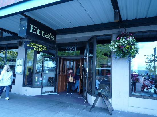 Etta S Seafood Restaurant Front Door