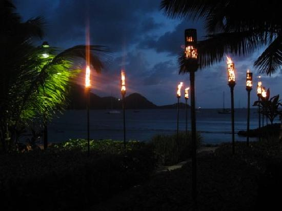 The Landings St. Lucia: At the Beach Club.