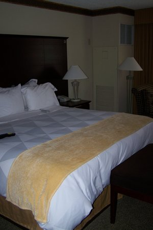 Red Lion Hotel Jacksonville: Large Sleep Number bed - King