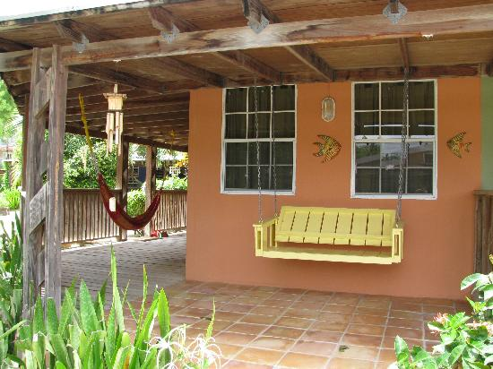 Culebra Beach Villas: Our porch