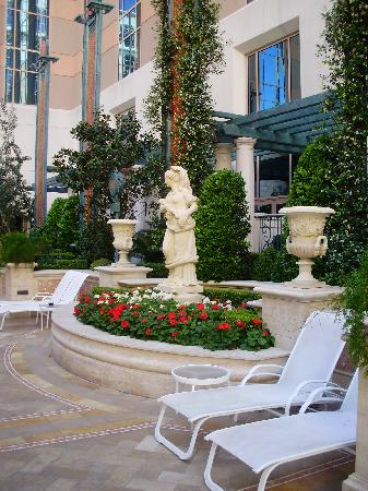 Garden Near The Quiet Swimming Pool Picture Of The Venetian Resort Las Vegas Las Vegas