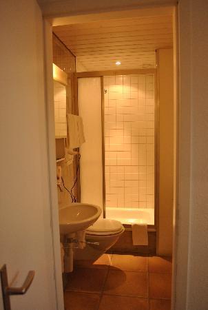 Hotel Splendid: small bathroom