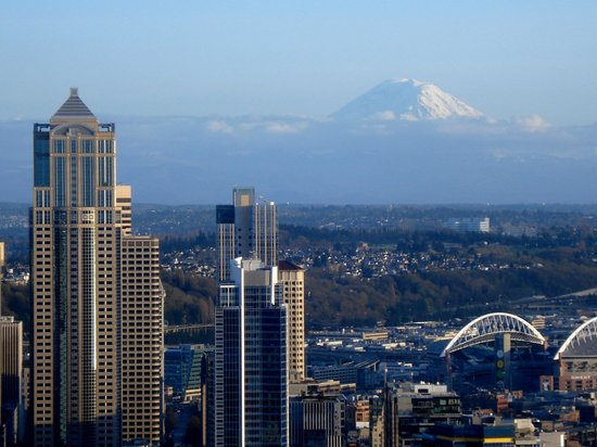 Seattle, Etat de Washington : Roof top Deck