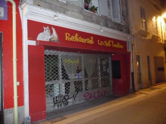 Le Chat Touilleur : Frontage (taken when closed)